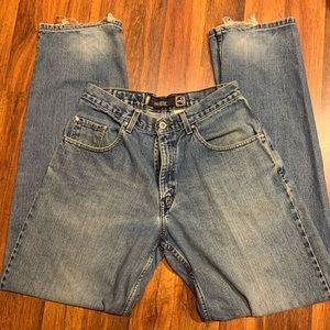VINTAGE Silvertab Levi's Baggy fit Size 32 x 36